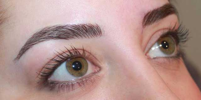 eyebrow cosmetic tattoo